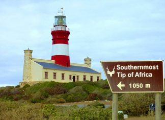 Light House at Cape Agulhas